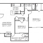 2 Bedroom 805 sq ft $ Call For Pricing